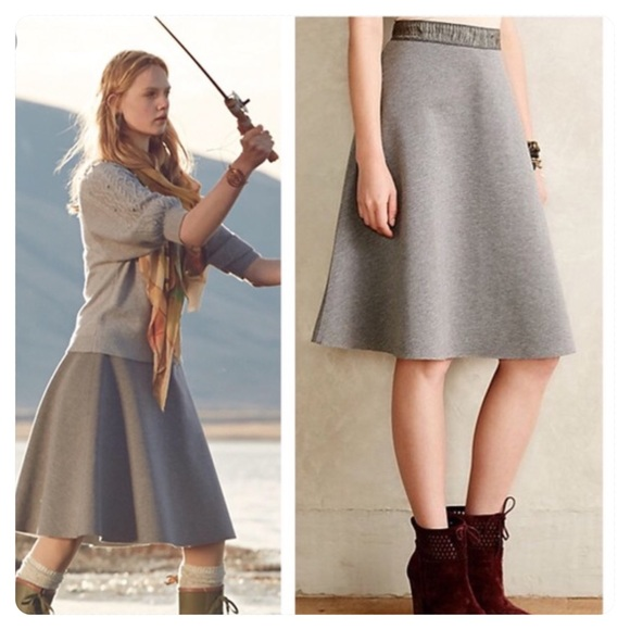 08e7839e1233 Anthropologie Dresses & Skirts - Anthropologie HD in Paris Neoprene Flare  Skirt